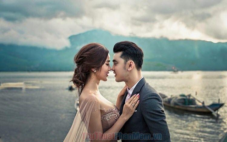 Bộ ảnh hôn nhau đẹp nhất