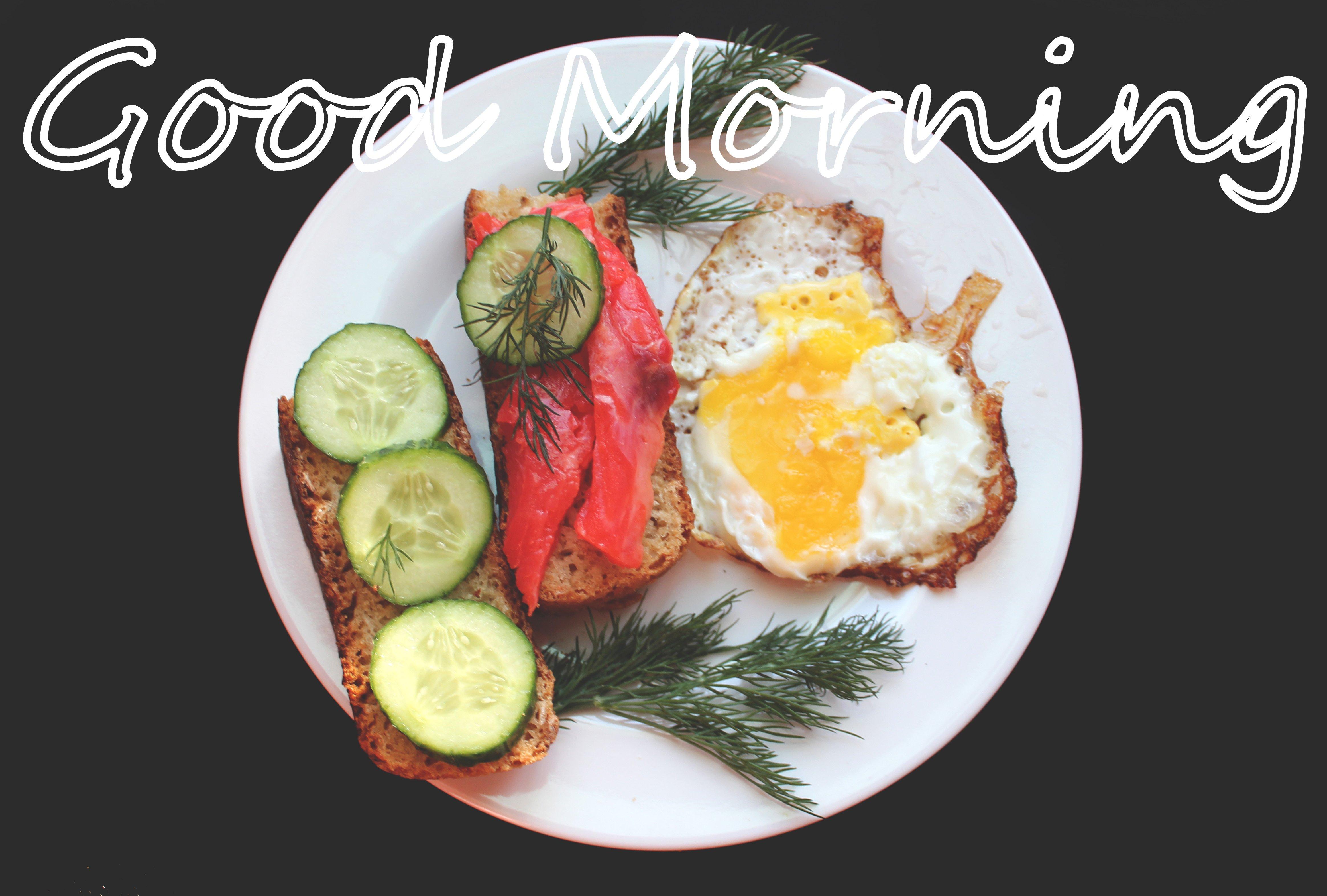 Bữa ăn sáng đẹp mắt - Lời chúc buổi sáng đẹp