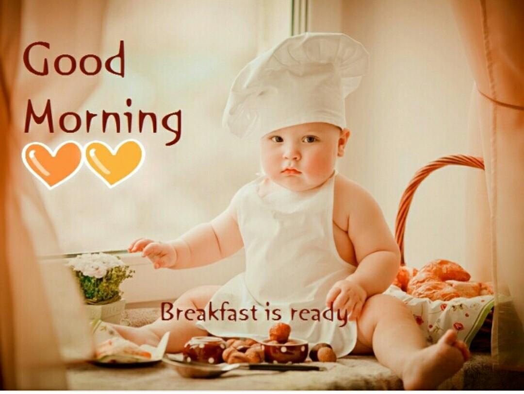 Chào buổi sáng baby