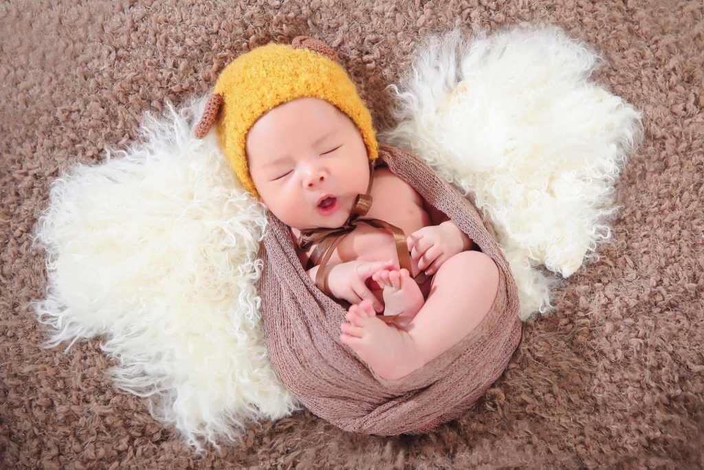 Chụp ảnh bé sơ sinh tại nhà đẹp nhất