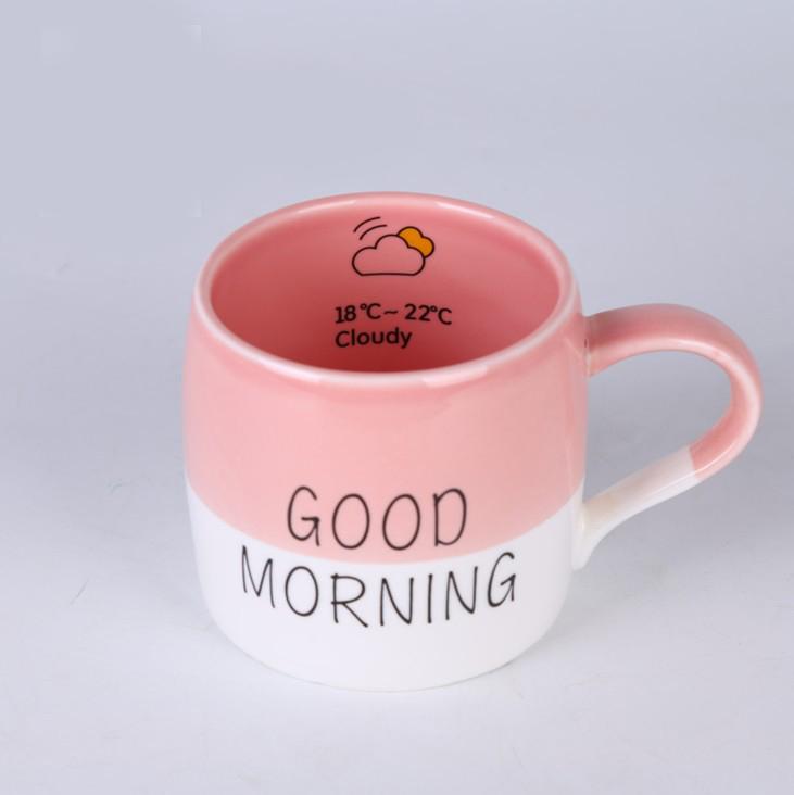 Good morning beautiful Cute - Cốc Good morning dễ thương
