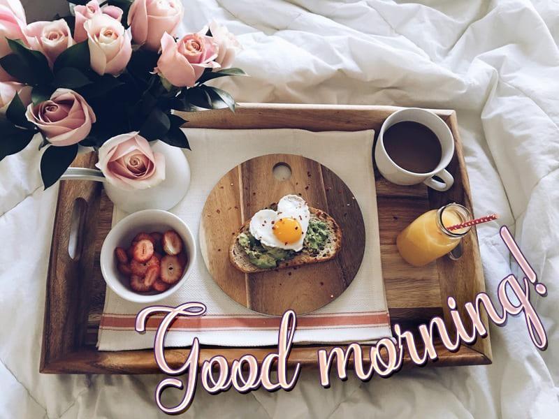 Hình ảnh bữa sáng chào ngày mới