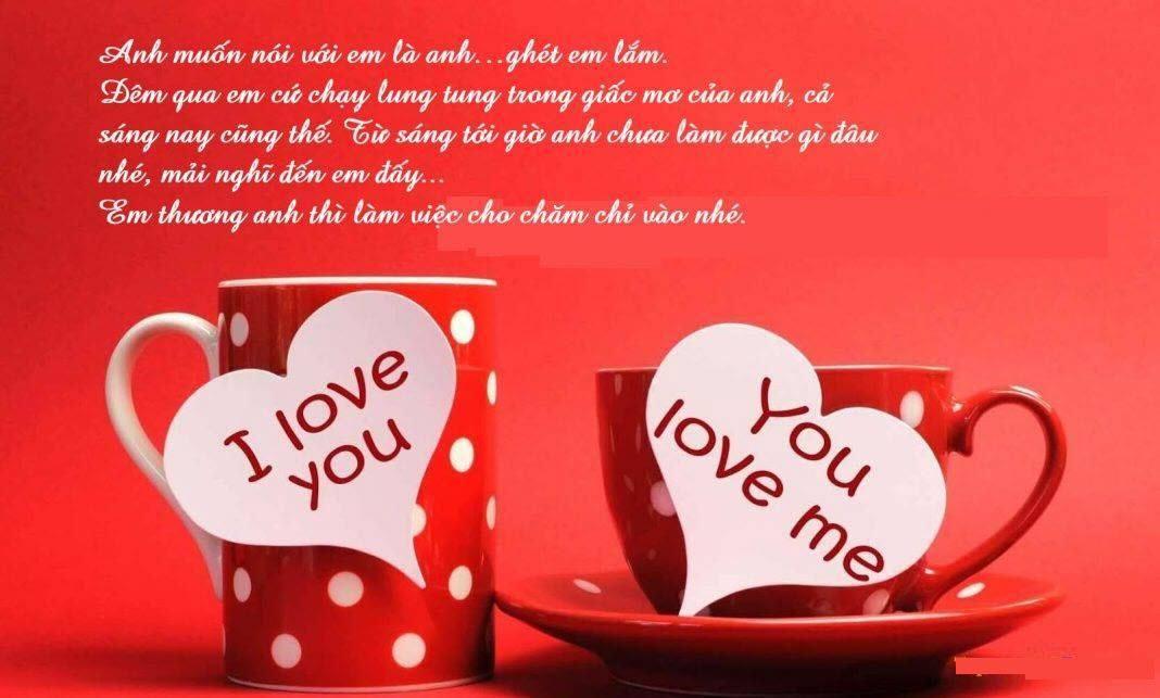 HÌnh ảnh chúc buổi sáng lãng mạn nhất