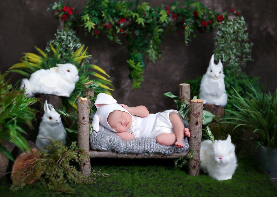 Hình ảnh em bé sơ sinh xinh xắn dễ thương