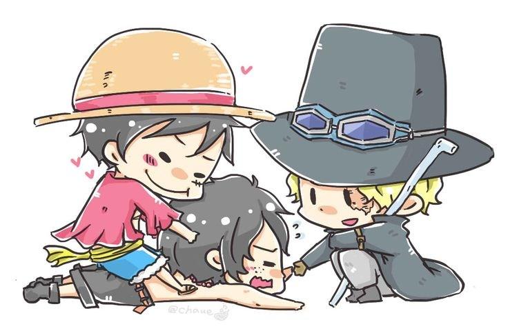Hình ảnh One Piece kute dễ thương