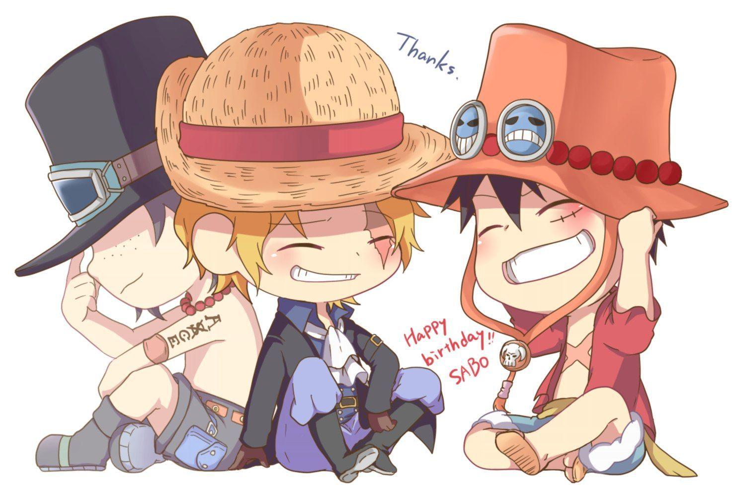 One Piece Chibi cute