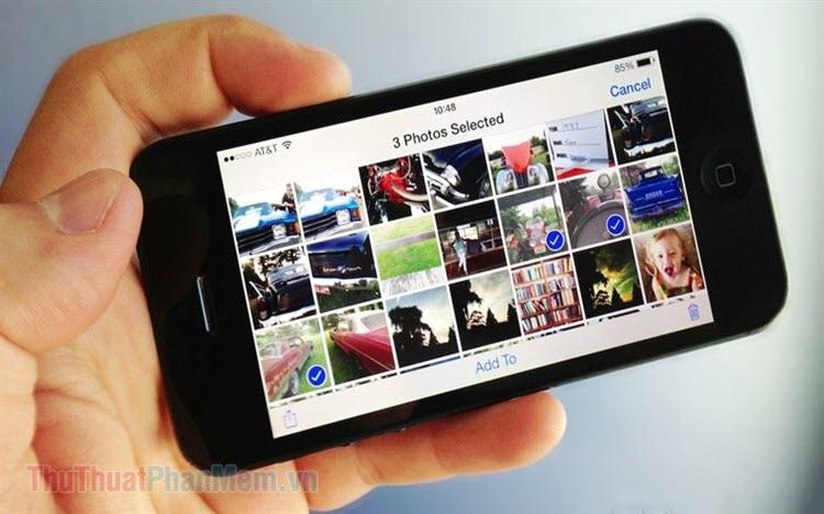 Cách xem dung lượng file ảnh trên iPhone