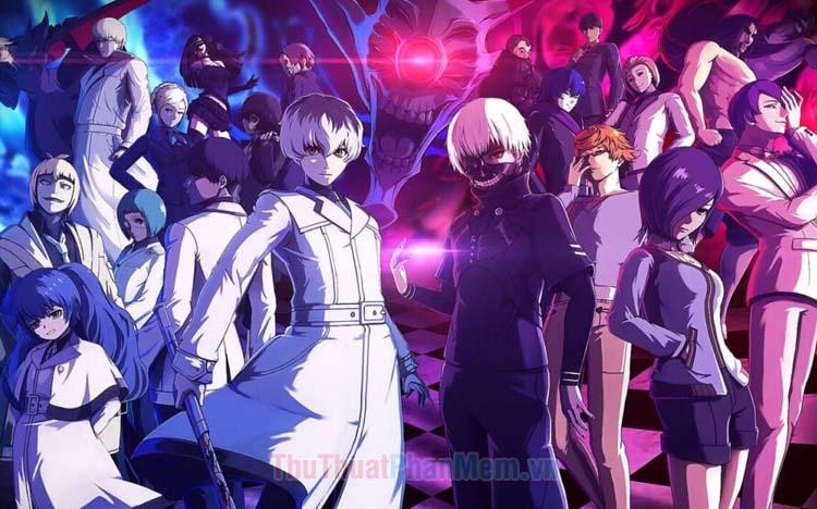 Danh sách các nhân vật trong Tokyo Ghoul
