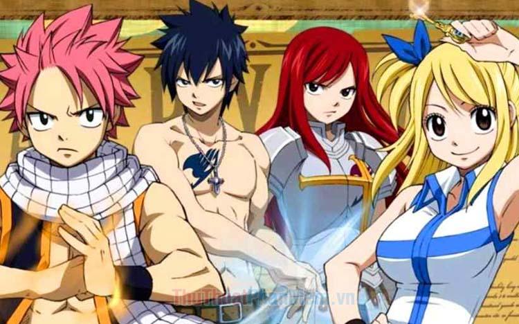 Danh sách nhân vật trong Fairy Tail