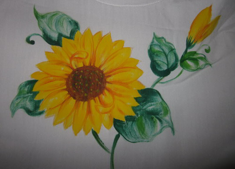Bức vẽ hoa hướng dương đẹp nhất