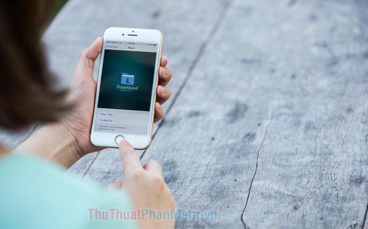 Cách thay đổi thư mục tải xuống iPhone và iPad