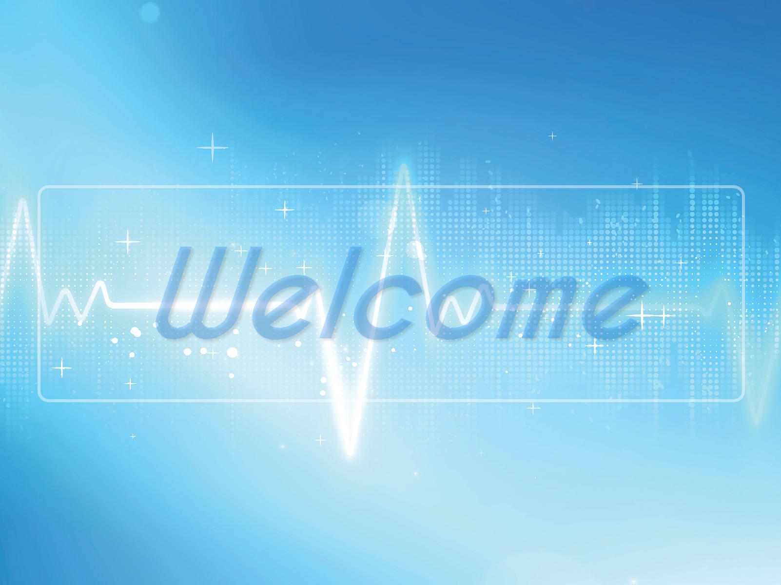 Slide chào mừng welcome