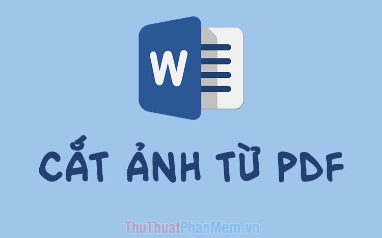 Cách cắt ảnh từ PDF sang Word