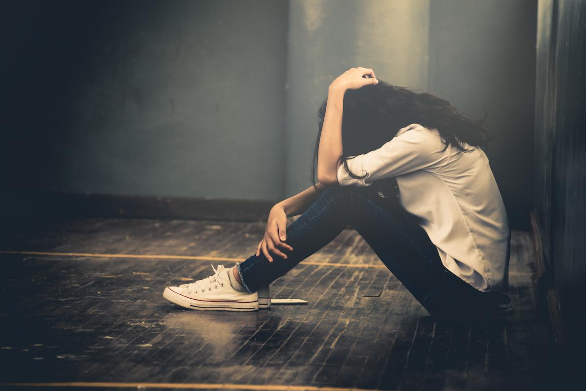 Hình ảnh cô gái thất vọng