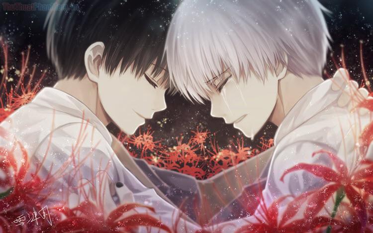 Hình ảnh hoa bỉ ngạn anime đẹp