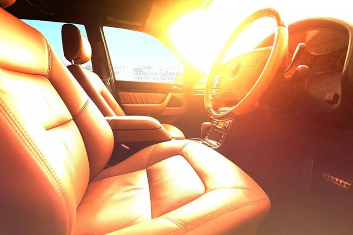 Hình ảnh nắng chiếu trong ô tô cực đẹp