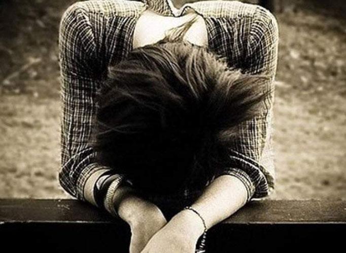 Hình ảnh phụ nữ thất vọng