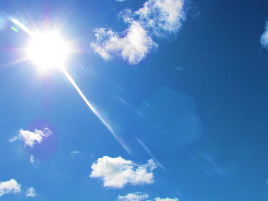 Hình ảnh trời nắng cực đẹp