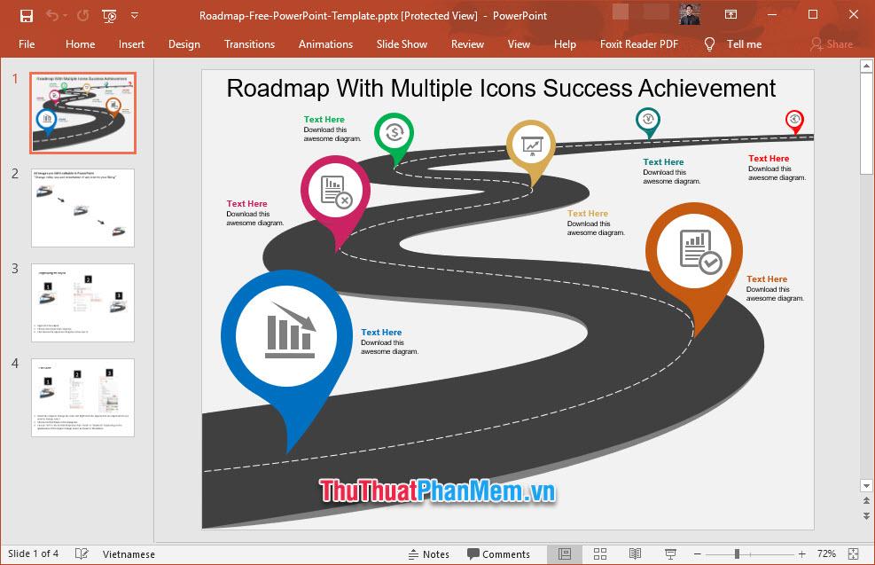 Slide giới thiệu quá trình công tác của bản thân