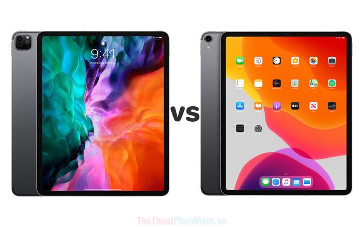 So sánh iPad Pro 2020 và iPad Pro 2018