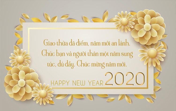 Ảnh chào mừng năm mới 2020