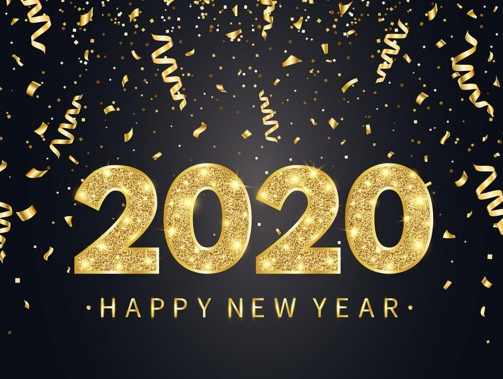 Ảnh chúc mừng năm mới 2020 cực đẹp