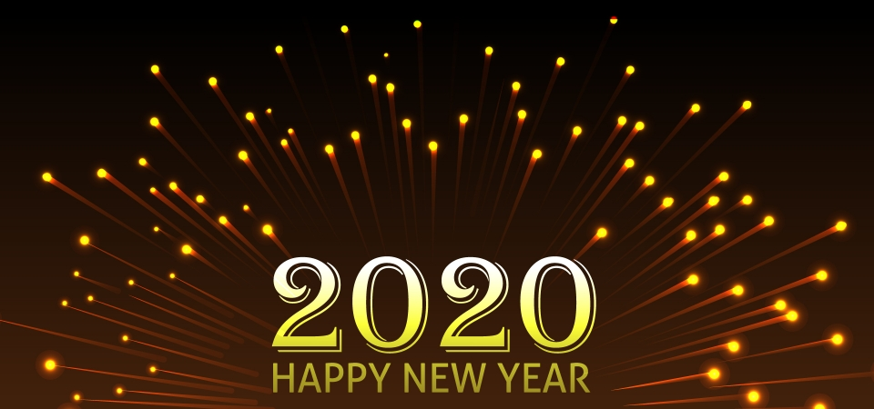 Ảnh chúc mừng năm mới 2020 đẹp