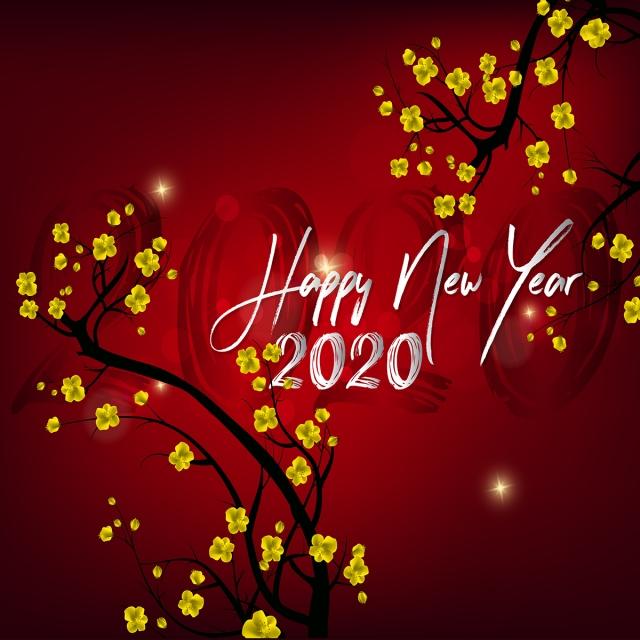 Ảnh chúc mừng năm mới 2020
