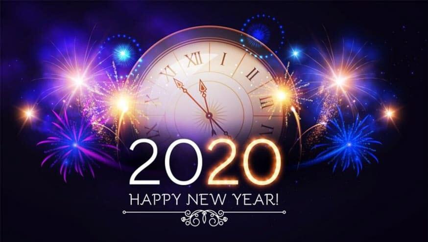 Ảnh mừng năm mới 2020 cực đẹp