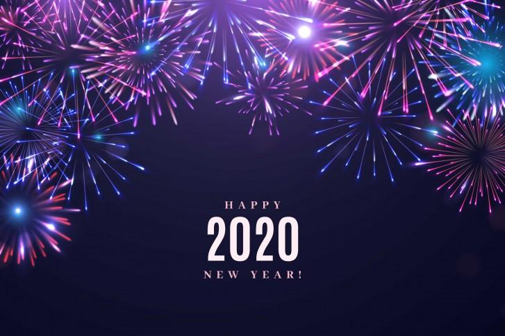 Ảnh mừng năm mới 2020 đẹp nhất