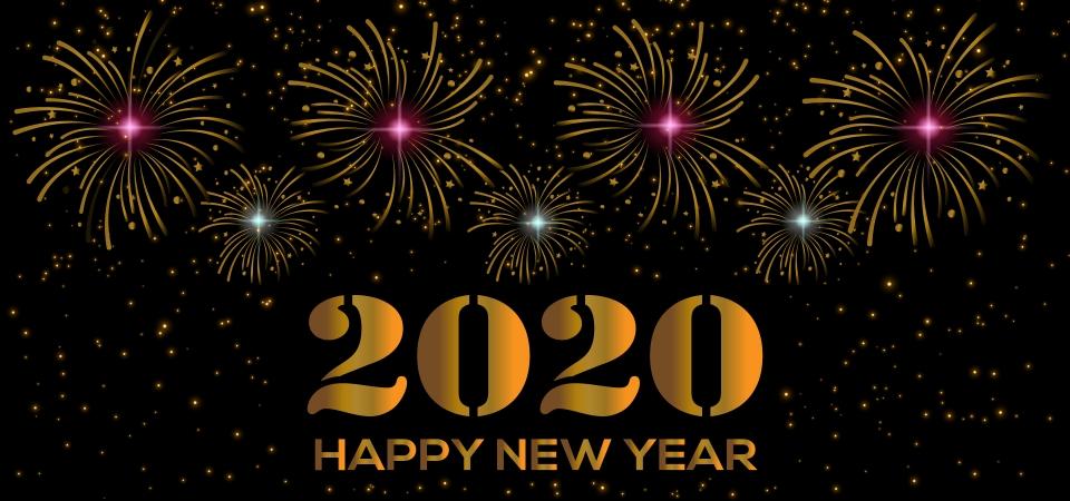Chúc mừng năm mới 2020 đẹp