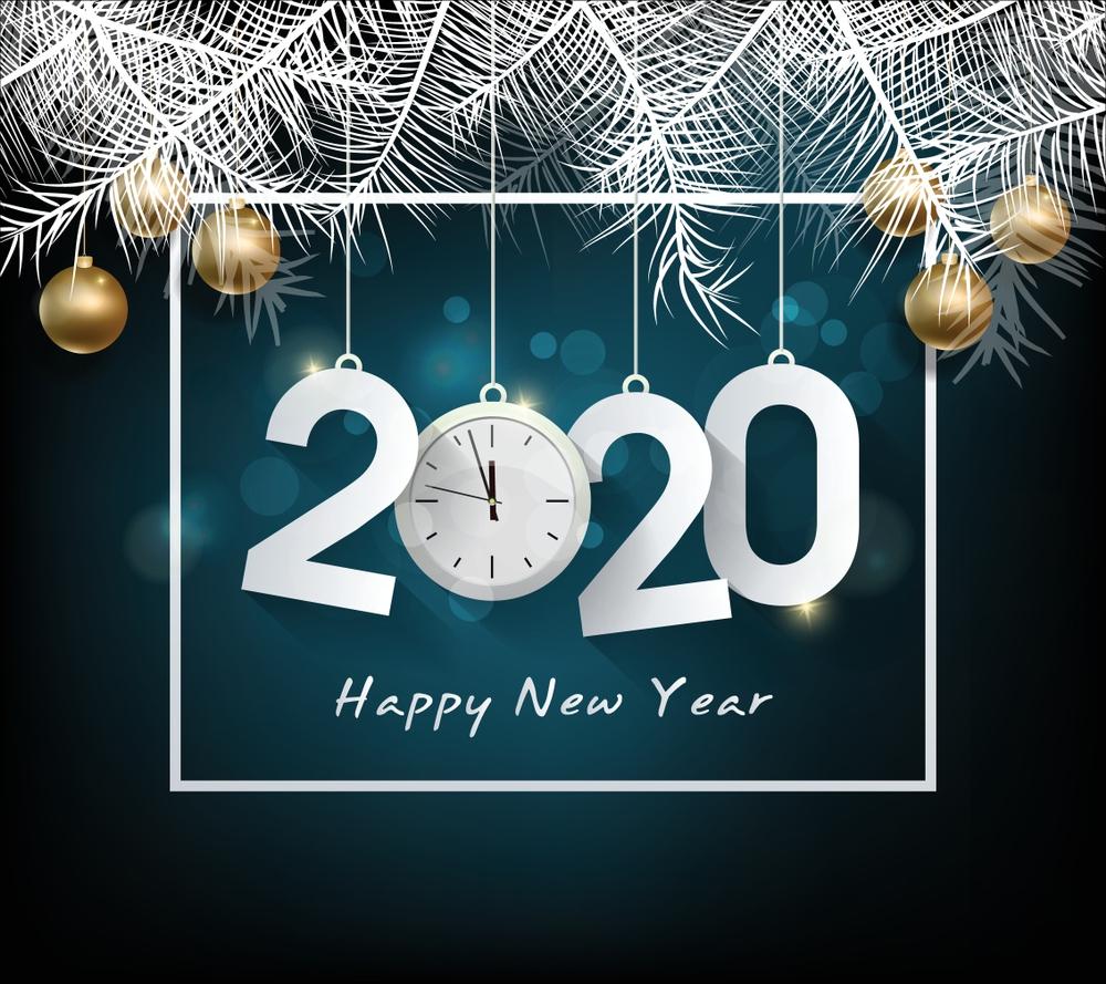 Hình ảnh chúc mừng năm mới 2020 đẹp