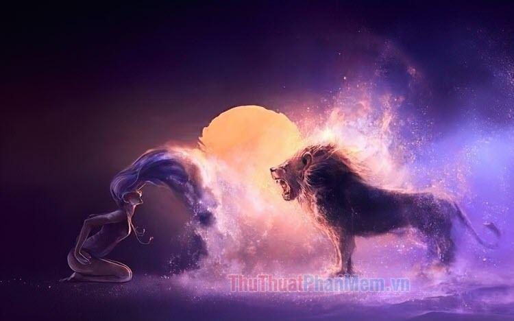 Hình ảnh cung Sư Tử đẹp nhất