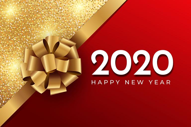 Hình ảnh mừng năm mới 2020