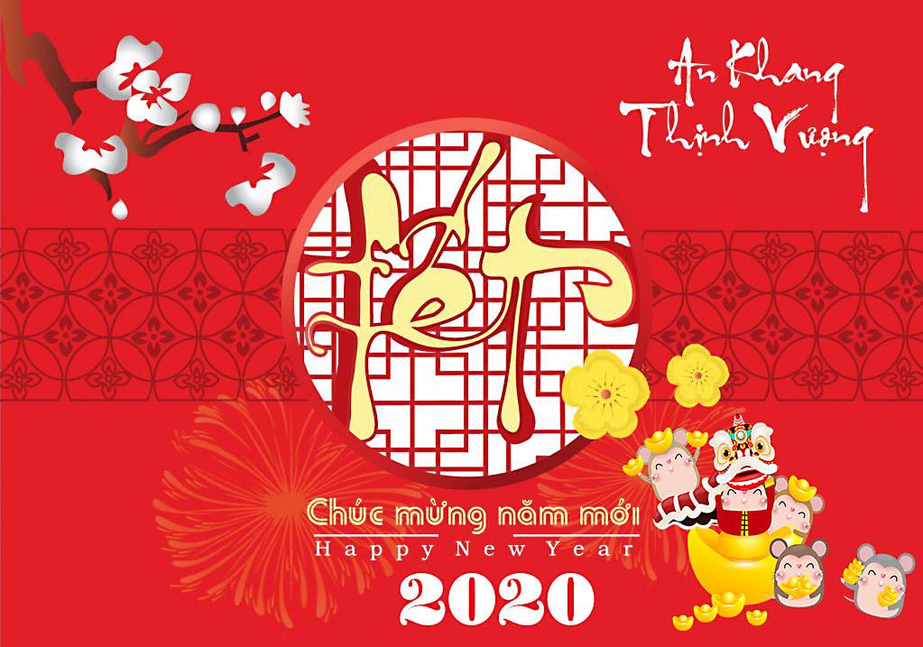 Hình ảnh mừng năm mới xuân Canh Tý