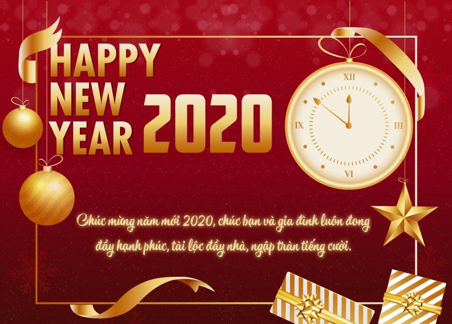 Lời chúc mừng năm mới 2020 hay