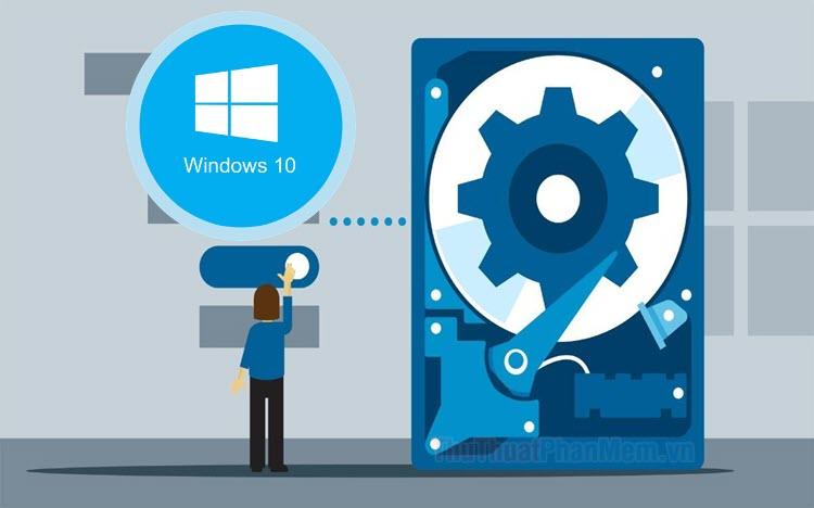 Windows 10 chiếm bao nhiêu dung lượng ổ cứng?