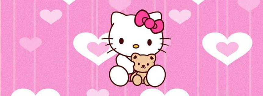 Ảnh bìa hello kitty cute đẹp nhất