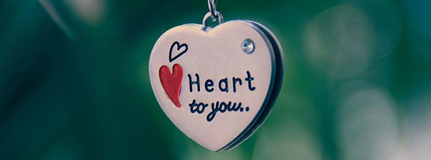 Hình ảnh bìa trái tim cute