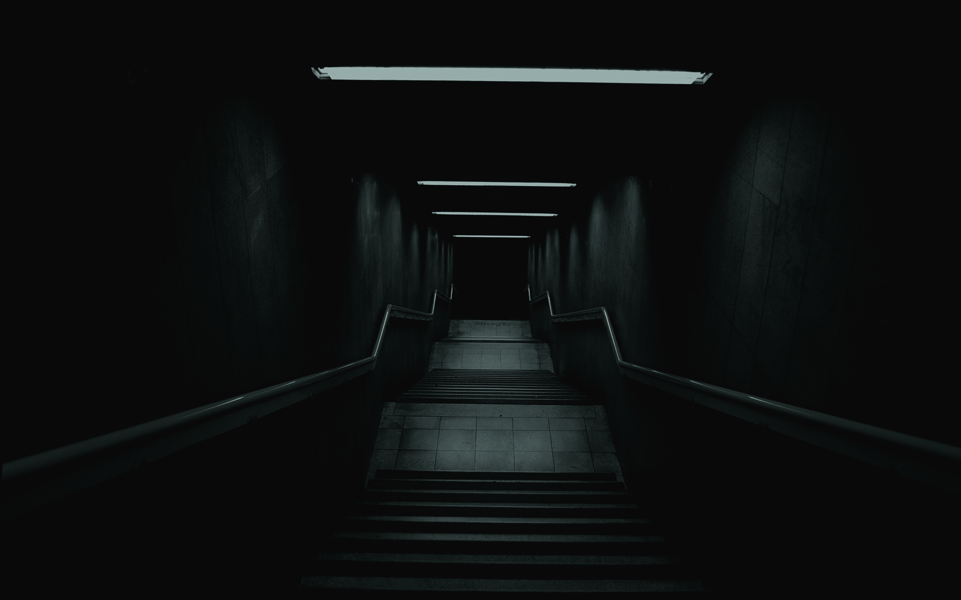 Hình nền hành lang tối