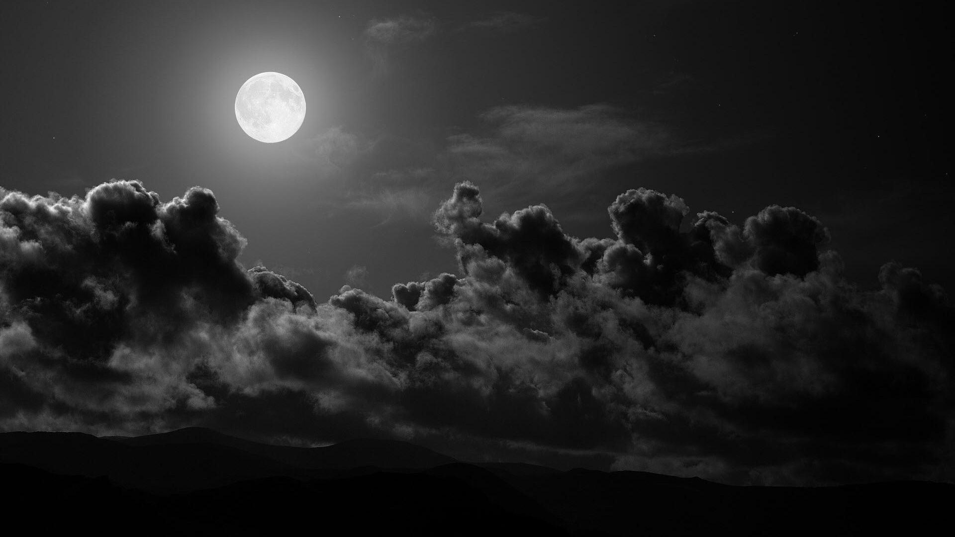 Hình nền trời tối