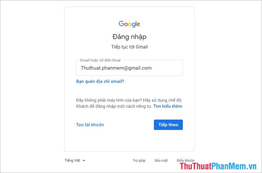 Chỉ cần thêm dấu chấm vào giữa các ký tự trong tên Gmail là bạn có thể tạo ra nhiều tài khoản Gmail