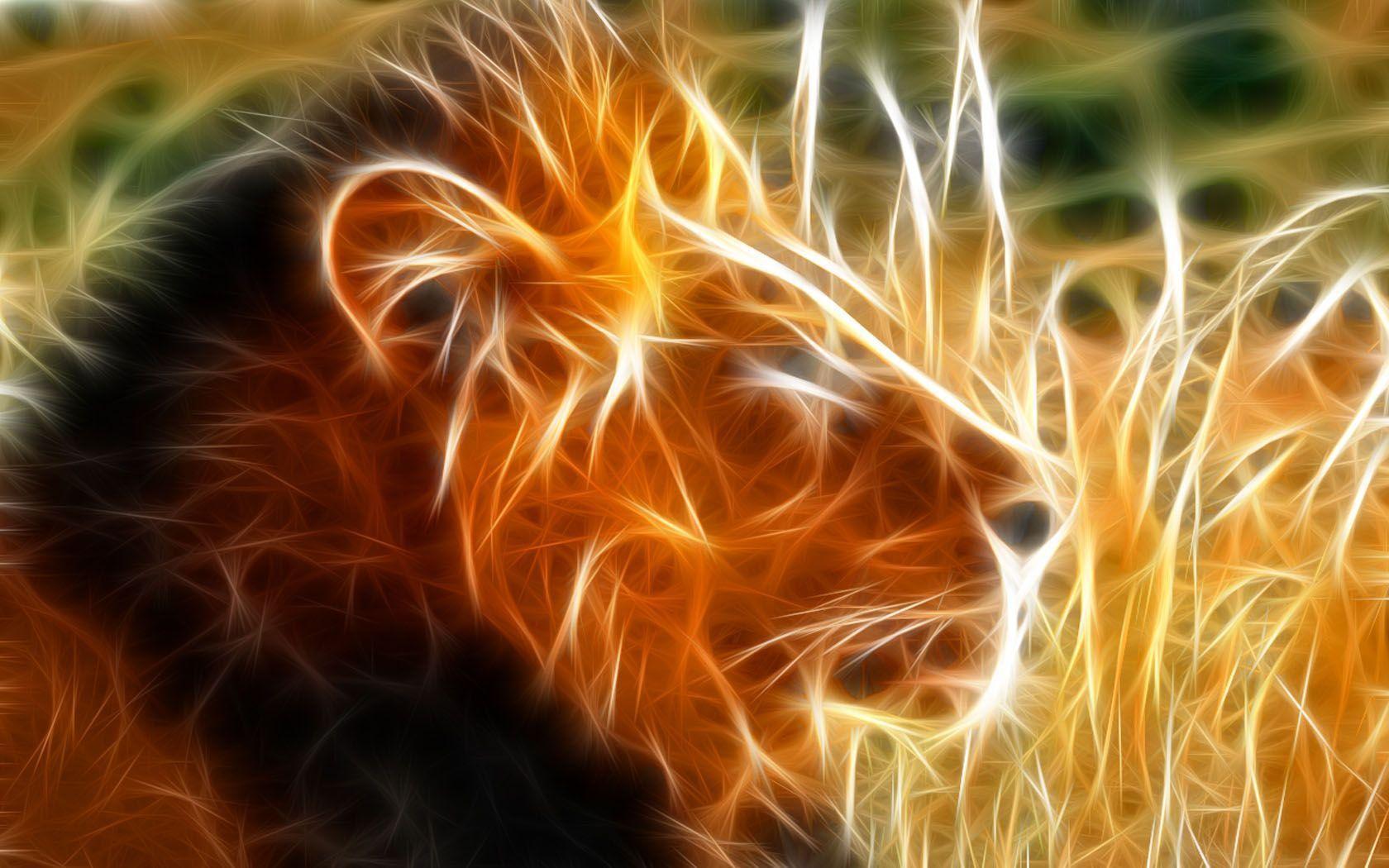 Hình ảnh 3D cung Sư Tử đẹp nhất