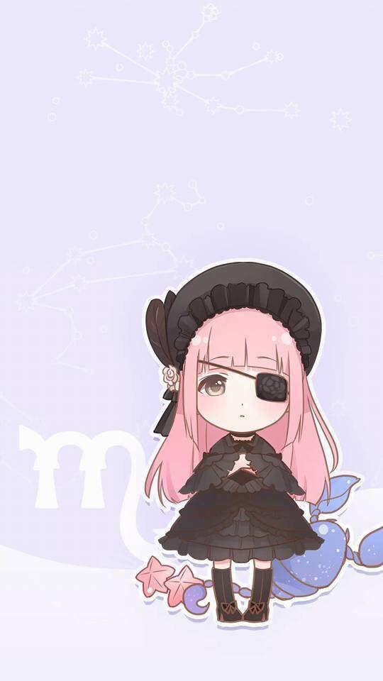 Hình ảnh anime chibi cung Bọ Cạp