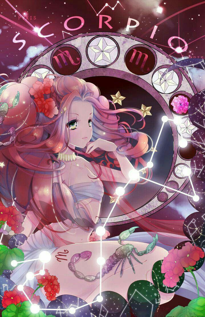 Hình ảnh anime cung Bọ Cạp