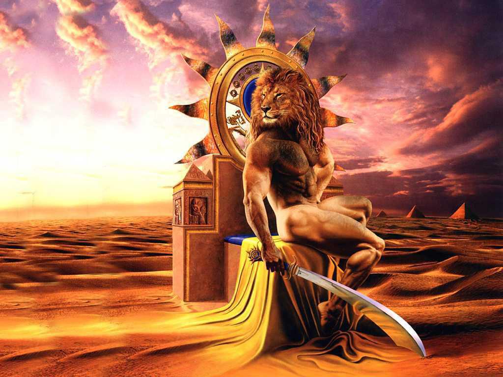Hình ảnh cung Sư Tử dũng mãnh
