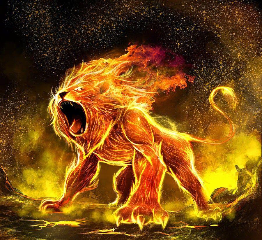 Hình ảnh cung Sư Tử mạnh mẽ