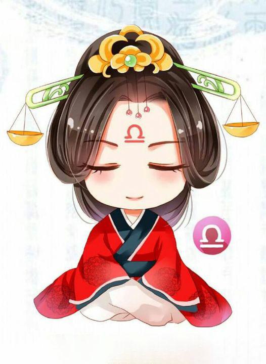 Hình ảnh cung Thiên Bình ngồi thiền