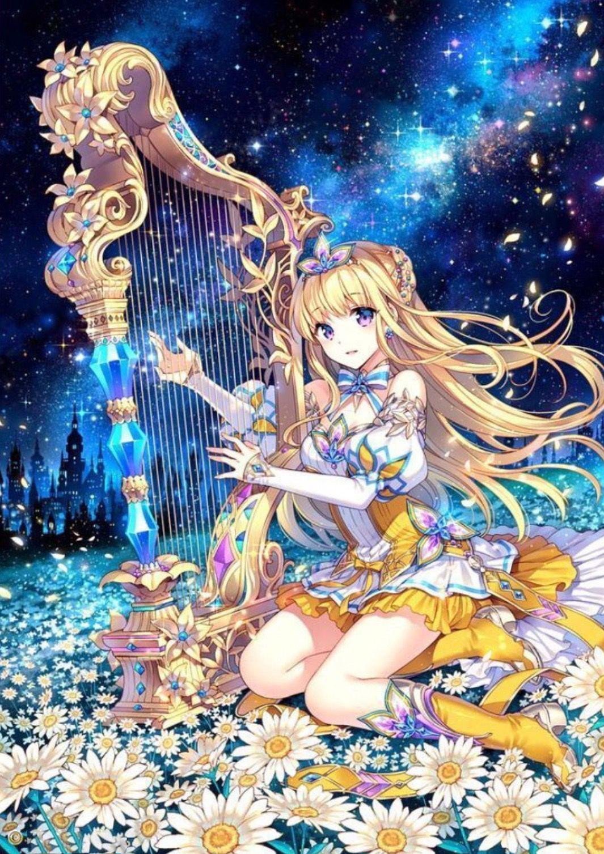 Hình ảnh cung Xử Nữ anime đẹp