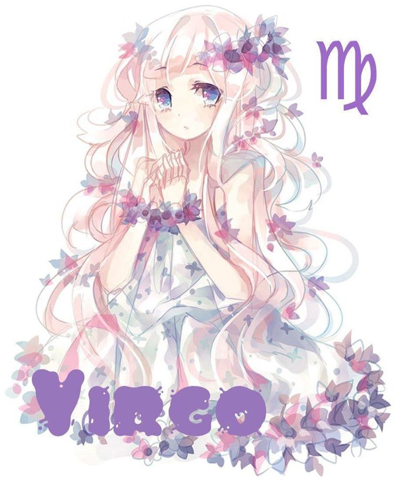 Hình ảnh cung Xử Nữ anime